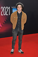"""Fra Fee at the 65th BFI London Film Festival """"Belfast"""" American Airlines gala, Royal Festival Hall, Belvedere Road, on Tuesday 12th October 2021, in London, England, UK.  <br /> CAP/CAN<br /> ©CAN/Capital Pictures"""