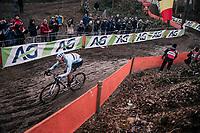 Wout Van Aert (BEL/Crelan Charles) <br /> <br /> Men Elite Race<br /> UCI CX Worlds 2018<br /> Valkenburg - The Netherlands