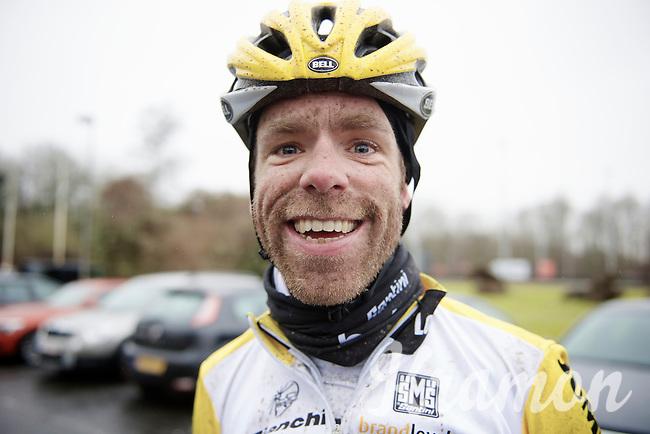 post-recon happy face by Bram Tankink (NLD/LottoNL-Jumbo)<br /> <br /> 2015 Omloop Het Nieuwsblad recon by Team LottoNL-Jumbo