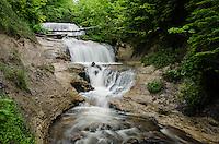 Summer at Sable Falls, Pictured Rocks National Lakeshore. Grand Marais, MI