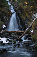 Waterfall along Prince William Sound, Alaska.