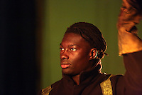 Pictured: Bafetimbi Gomis 01 April 2015<br />