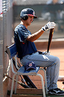 Lonnie Chisenhall   -  Cleveland Indians - 2009 spring training.Photo by:  Bill Mitchell/Four Seam Images