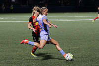 Rochester, NY - Friday July 01, 2016: McCall Zerboni, Alyssa Mautz during a regular season National Women's Soccer League (NWSL) match between the Western New York Flash and the Chicago Red Stars at Rochester Rhinos Stadium.