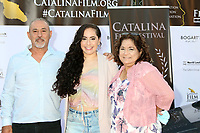 LOS ANGELES - SEP 25:  Katrina Cebreiro and guests at the Catalina Film Festival Drive Thru Red Carpet, Friday at the Scottish Rite Event Center on September 25, 2020 in Long Beach, CA