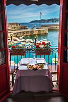 Spider crab at Itxas Etxea Restaurant. Elantxobe. Urdaibai Region. Bizkaia. Basque Country. Spain.