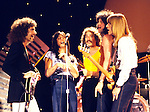 "Journey 1979 on ""Midnight Special"". l-r Neal Schon, Steve Perry, Steve Smith, Gregg Rolie, Ross Valory.© Chris Walter."