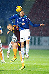 St Johnstone v Motherwell…15.12.18…   McDiarmid Park    SPFL<br />Curtis Main loses out to Scott Tanser and Joe Shaughnessy<br />Picture by Graeme Hart. <br />Copyright Perthshire Picture Agency<br />Tel: 01738 623350  Mobile: 07990 594431