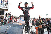 Monster Energy NASCAR Cup Series<br /> I LOVE NEW YORK 355 at The Glen<br /> Watkins Glen International, Watkins Glen, NY USA<br /> Sunday 6 August 2017<br /> Martin Truex Jr, Furniture Row Racing, Furniture Row/Denver Mattress Toyota Camry celebrates in victory lane <br /> World Copyright: Russell LaBounty<br /> LAT Images
