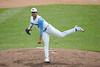 North Carolina Tar Heels relief pitcher Shawn Rapp (43) in action against the North Carolina State Wolfpack at Boshamer Stadium on March 27, 2021 in Chapel Hill, North Carolina. (Brian Westerholt/Four Seam Images)