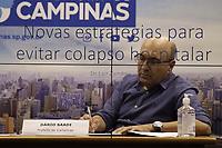 Campinas (SP), 10/03/2021 - Dario Saadi - O prefeito de Campinas (SP), Dario Saadi (Republicanos), realizou nesta quarta-feira (10), um anuncio com acoes emergenciais que serao tomadas para o combate a covid-19 na cidade. (Foto: Denny Cesare/Codigo 19/Codigo 19)