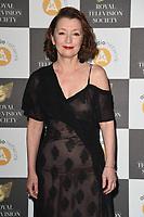 Leslie Manville<br /> arriving for the RTS Awards 2019 at the Grosvenor House Hotel, London<br /> <br /> ©Ash Knotek  D3489  19/03/2019
