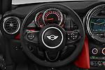 Car pictures of steering wheel view of a 2015 MINI MINI Cooper 3 Door Hatchback Steering Wheel