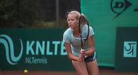 Hilversum, Netherlands, August 12, 2016, National Junior Championships, NJK, Nina Kruijer  (NED)<br /> Photo: Tennisimages/Henk Koster