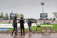 Play abandoned for the day during India vs New Zealand, ICC World Test Championship Final Cricket at The Hampshire Bowl on 21st June 2021