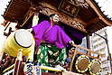 Kawagoe Festival the Music Battle between Festival Floats
