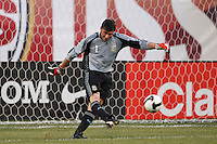 Argentina goalkeeper Roberto Abbondanzieri (1). The men's national teams of the United States and Argentina played to a 0-0 tie during an international friendly at Giants Stadium in East Rutherford, NJ, on June 8, 2008.
