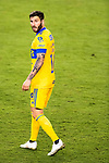 Andre-Pierre Gignac of Tigres UANL (MEX) in action against CD Olimpia (HON) during their CONCACAF Champions League Semi Finals match at the Orlando's Exploria Stadium on 19 December 2020, in Florida, USA. Photo by Victor Fraile / Power Sport Images