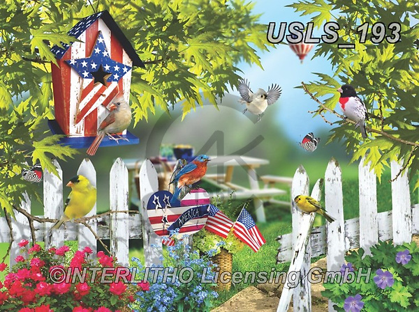 Lori, LANDSCAPES, LANDSCHAFTEN, PAISAJES, paintings+++++Fourth of July_Summer_3_72,USLS193,#l#, EVERYDAY ,puzzle,puzzles