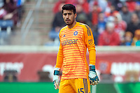 Bridgeview, IL - Saturday April 14, 2018: Richard Sanchez during a regular season Major League Soccer (MLS) match between the Chicago Fire and the LA Galaxy at Toyota Park.  The LA Galaxy defeated the Chicago Fire by the score of 1-0.