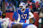 Buffalo Bills Levi Wallace (47) during an NFL football game against the New York Jets, Sunday, December 9, 2018, in Orchard Park, N.Y.  (Mike Janes Photography)