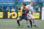 USRC vs Discovery Bay during the Masters of the HKFC Citi Soccer Sevens on 21 May 2016 in the Hong Kong Footbal Club, Hong Kong, China. Photo by Li Man Yuen / Power Sport Images