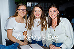 Enjoying the evening in the Grand Hotel on Saturday, l to r: Lisa Curran, Aoife Hickey and Ciara O'Mahoney.