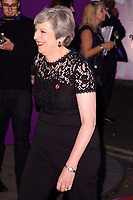 prime Minister Theresa May<br /> at the Pride of Britain Awards 2017 held at the Grosvenor House Hotel, London<br /> <br /> <br /> ©Ash Knotek  D3342  30/10/2017