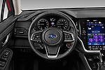 Car pictures of steering wheel view of a 2020 Subaru Legacy Premium 4 Door Sedan Steering Wheel