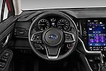 Car pictures of steering wheel view of a 2020 Subaru Legacy Premium 4 Door Sedan Steering Wheel