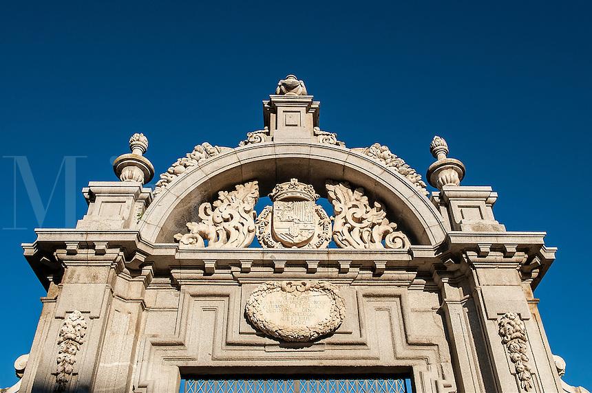 Enterance to Retiro Park, Madrid, Spain
