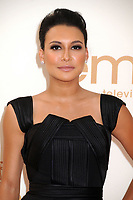 13 July 2020 - Naya Rivera, the actress best known for playing cheerleader Santana Lopez on Glee, has been confirmed dead. Rivera, 33, is believed to have drowned while swimming in the lake with her 4-year-old son, who was found asleep on their rental pontoon boat after it was overdue for return. 18 September 2011 - Los Angeles, California - Naya Rivera. 63rd Primetime Emmy Awards held at Nokia Theatre L.A. Live. Photo Credit: Byron Purvis/AdMedia