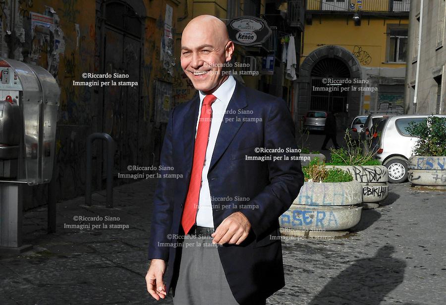 - NAPOLI  12 FEB    2014 - Guglielmo Vaccaro