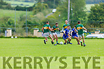 Action from Annascaul v Knocknagoshel in the Kerry Junior Club Championship round 1 game on Sunday.