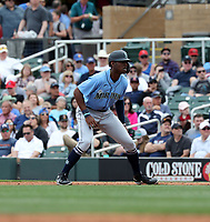Kyle Lewis - Seattle Mariners 2020 spring training (Bill Mitchell)