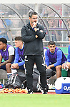 10.08.2019,  GER; DFB Pokal, SV Drochtersen/Assel vs FC Schalke 04 ,DFL REGULATIONS PROHIBIT ANY USE OF PHOTOGRAPHS AS IMAGE SEQUENCES AND/OR QUASI-VIDEO, im Bild Trainer David Wagner (Schalke) Foto © nordphoto / Witke *** Local Caption ***