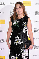 Alexandra Shulman<br /> at The Design Museum opening party with Vogue, Kensington, London.<br /> <br /> <br /> ©Ash Knotek  D3203  22/11/2016