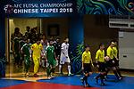Lebanon vs Iraq during the AFC Futsal Championship Chinese Taipei 2018 Quarter Finals match at University of Taipei Gymnasium on 08 February 2018, in Taipei, Taiwan. Photo by Yu Chun Christopher Wong / Power Sport Images