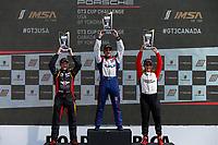 Race 2, GT3 USA, Platinum Masters Podium, #99 Kelly-Moss/AM Motorsports, Porsche 991 / 2019, GT3CP: Alan Metni (M), #68 Topp Racing, Porsche 991 / 2017, GT3P: Jeff Mosing (M), #45 Wright Motorsports, Porsche 991 / 2017, GT3P: Charlie Luck (M)