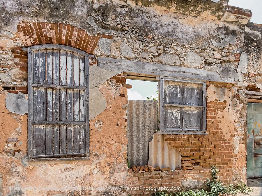 Old building in Cojimar, Hemingway's fishing village