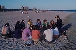 Coney Island New Jersey USA 1970s.