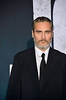 "LOS ANGELES, USA. September 29, 2019: Joaquin Phoenix at the premiere of ""Joker"" at the TCL Chinese Theatre, Hollywood.<br /> Picture: Paul Smith/Featureflash"