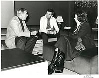 Joe Clark asssiste a la Coupe Grey<br /> , le  11 novembre 1979<br /> <br /> PHOTO : agence quebec presse