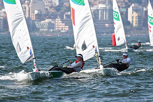 Reassuring presence – Annalise Murphy winning Silver in the 2016 Olympics at Rio