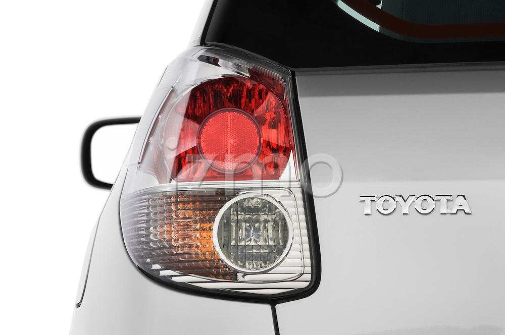 Tail light close up detail view of a 2008 Toyota Matrix wagon