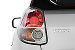 Tail light close up detail view of a 2008 Toyota Matrix wagon