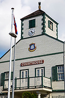 Philipsburg, Sint Maarten.  Court House.