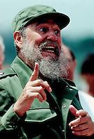 Fidel Castro Havana Cuba 1991 Photo F. Scott Grant