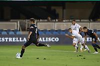Chris Wondolowski #8 of the San Jose Earthquakes takes a penalty kick