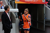 Fifa Women's World Cup Germany 2011 : England - France - at Leverkusen : Laure BOULLEAU.foto DAVID CATRY / Vrouwenteam.be